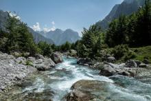 Paysage Albanie