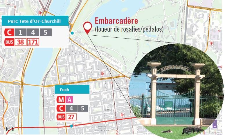 Plan_Parc_Tete_D'or_cours_velo